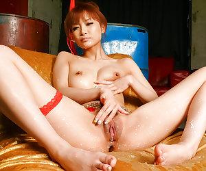 Misa Kikouden enjoys having her pussy and ass ravished