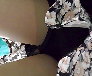 Upskirts beauty pantyhose