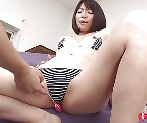 Shy Cute Squirting Japanese Teen Bukkake