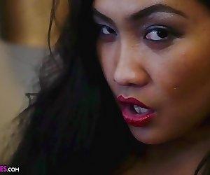 Amy Latina - Bedroom Jiggles big tits miss pinay asian babe
