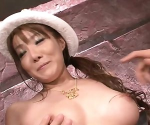 Yuna Hirose is a tiny Japanese girl with a passion for cum.