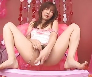 Incredible Japanese model Reika Shiina in Amazing Solo Girl, Masturbation JAV clip