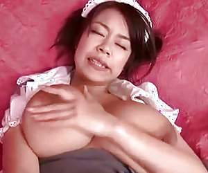 Voluptuous  receives a big cock to play with on cam